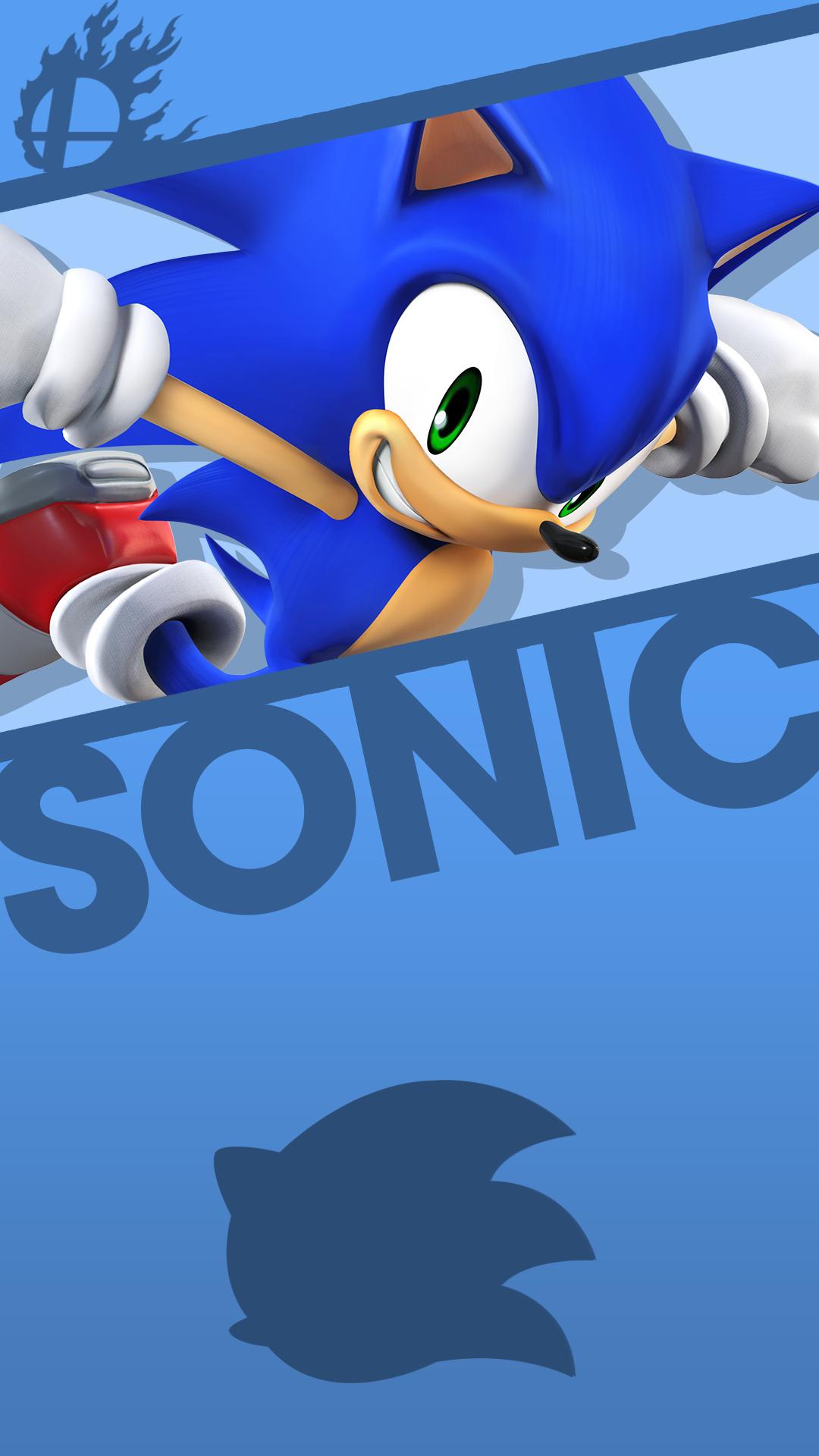 Phone Wallpaper By MrThatKidAlex24 Sonic Smash Bros