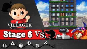 Adventure Mode (Stage 6) Concept (Paper Mario Leak