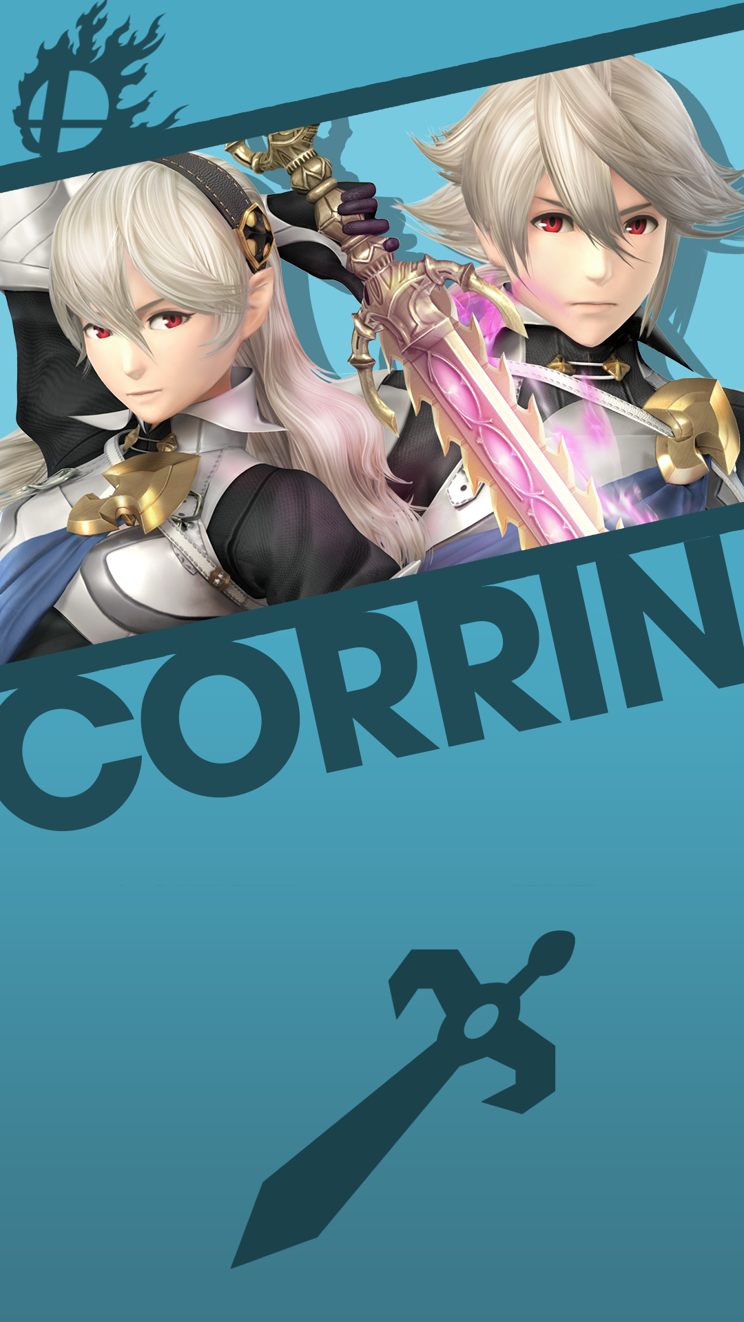Corrin Male Female Smash Bros Phone Wallpaper By Mrthatkidalex24 On Deviantart Need to know your phone resolution? corrin male female smash bros phone