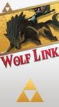 Wolf Link BOTW *UPDATED* Phone Wallpaper