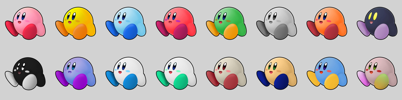 Kirby Custom Palette Swaps By Mrthatkidalex24 On Deviantart
