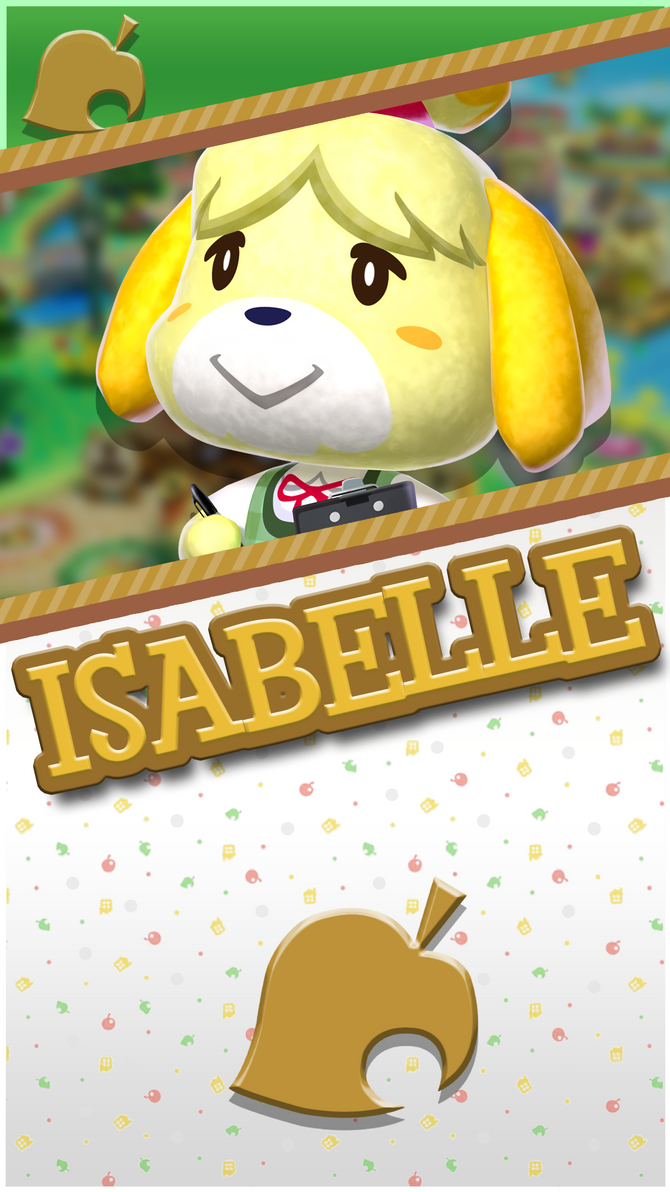 Isabelle Animal Crossing Phone Wallpaper by ...