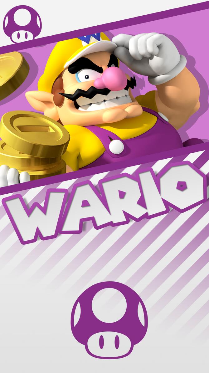 wario phone wallpaper