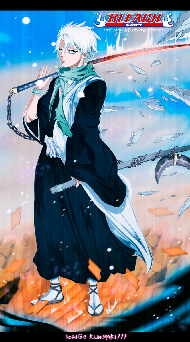Captain Toshirou Hitsugaya by ice-anBu