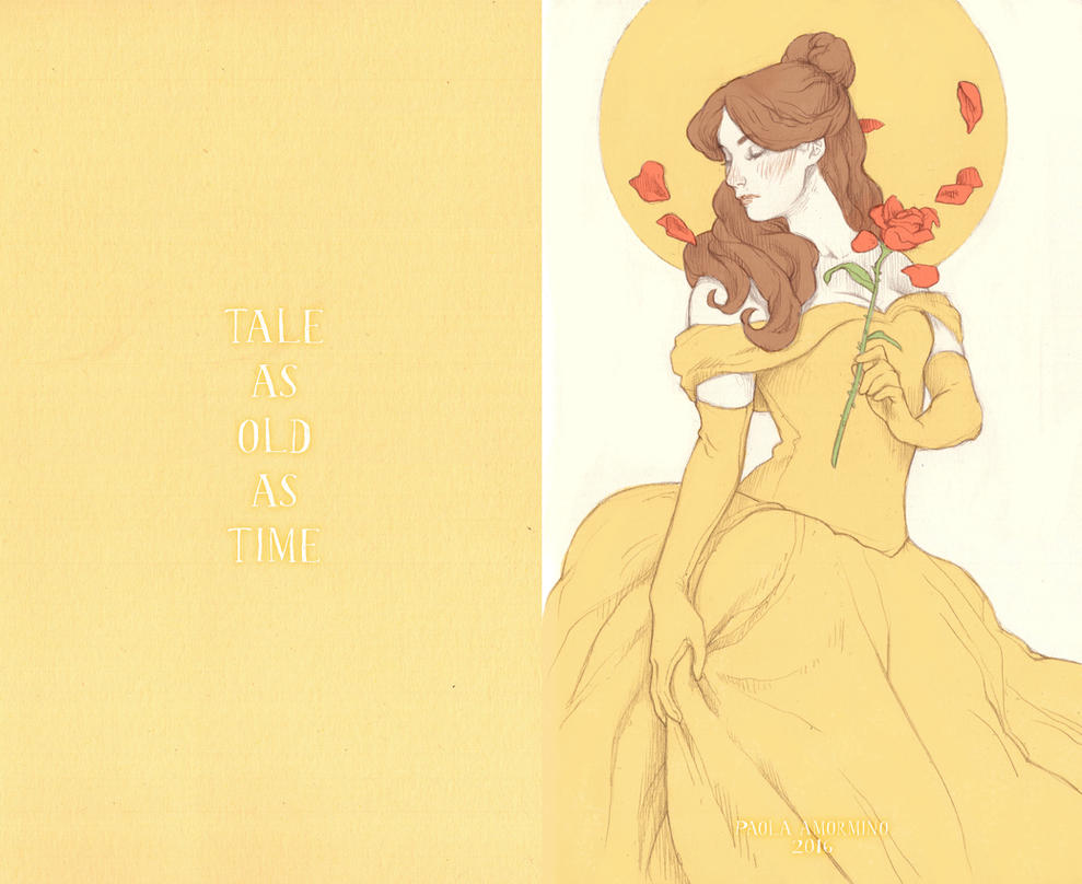 Tale As Old As Time by Paola0405