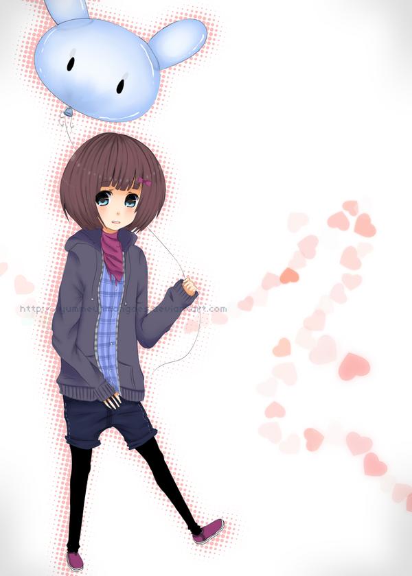 Balloon by YummeuhMangoes