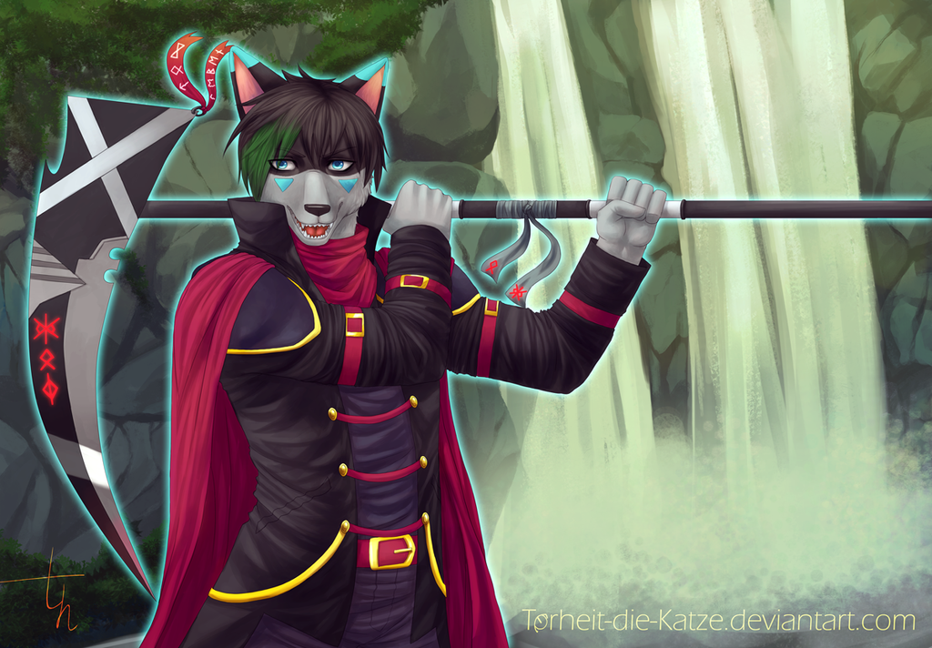 Commission - Scythe Dance by Torheit-die-Katze