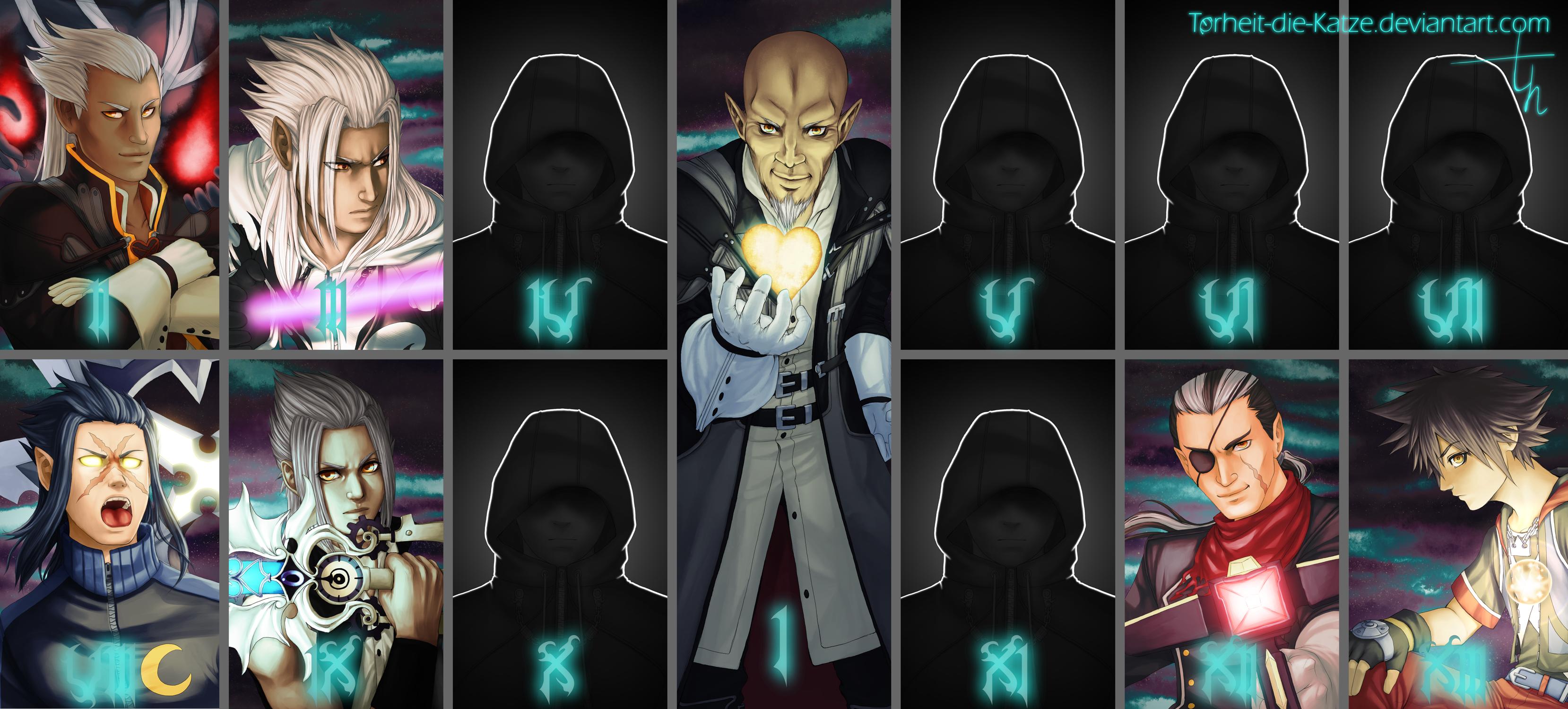 KH - The new Organization XIII by Torheit-Skadi