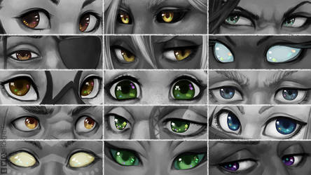 DnD - Eyes by Torheit-Skadi