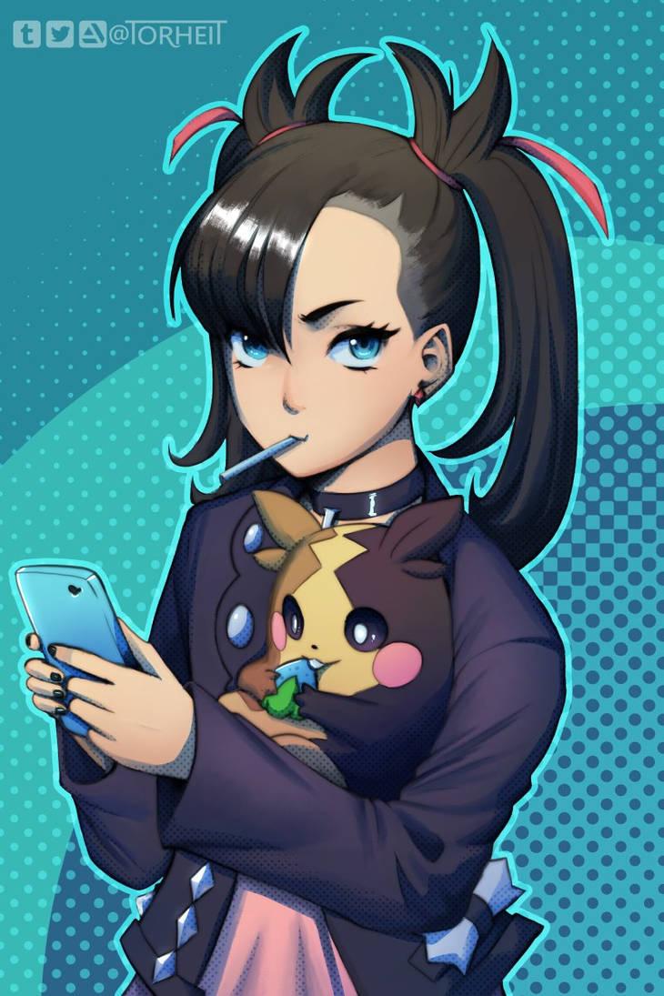 Pokemon - Marnie