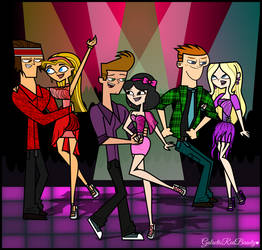 Total Drama- Dance Club! by Galactic-Red-Beauty