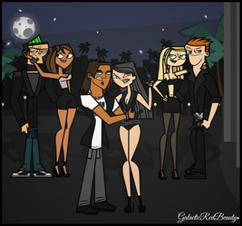 Six Teens In The Middle Of Miami~ (For evagimxo) by Galactic-Red-Beauty