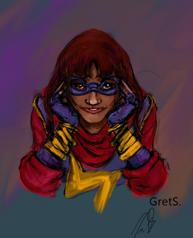 Ms. Marvel Kamala Khan by GretS-FreedomRider