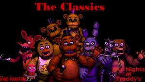 FNAF C4D Fnaf 1 The Classics