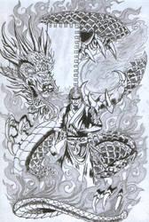 Samurai by TheParadoxBre