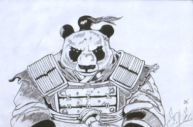 Panda by TheParadoxBre