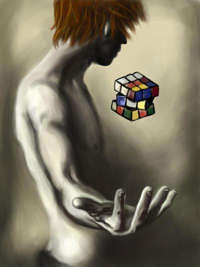 I'm good with puzzles by Em-j-akahana