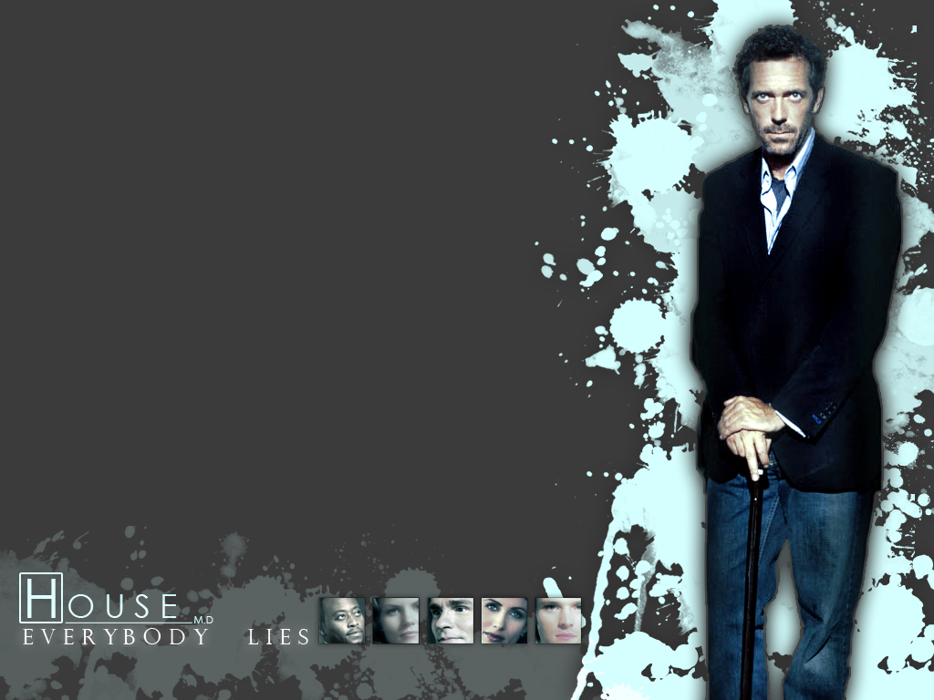 Dr House Wallpaper By Akuraishio On Deviantart