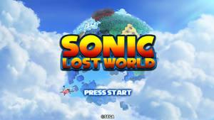 Sonic Lost World - Custom Title Screen