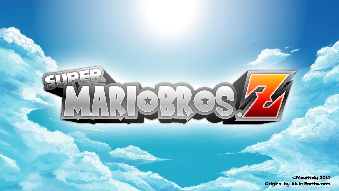 Super Mario Bros. Z Logo Remake by Mauritaly