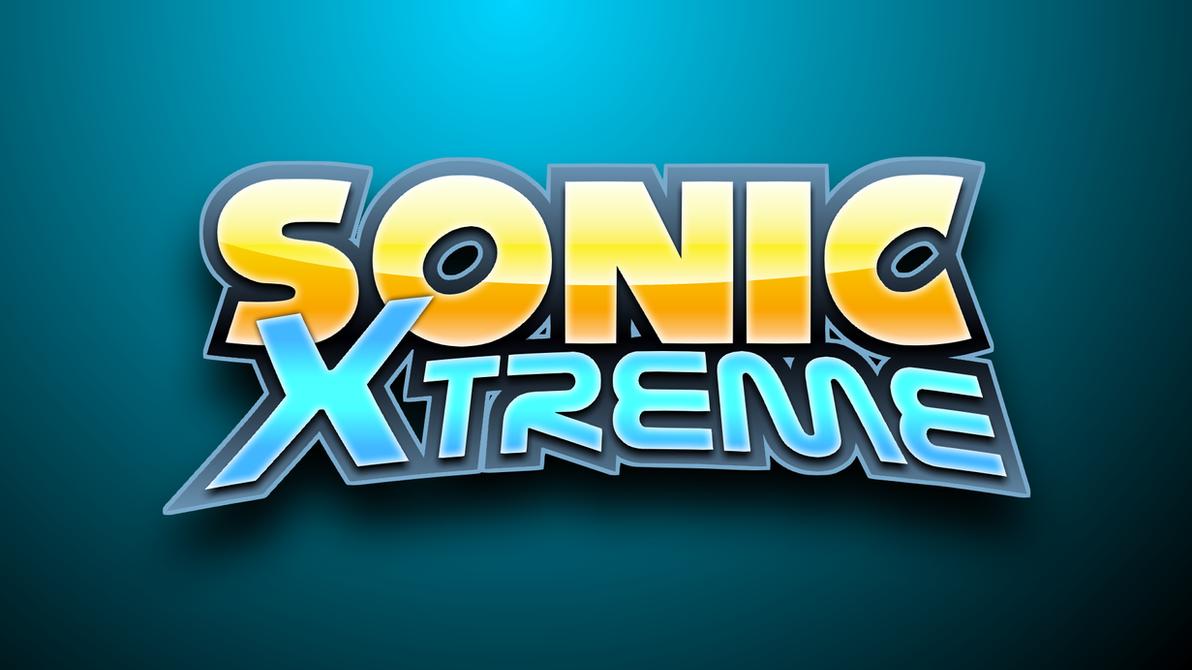 Sonic X-Treme Logo 3 v2 by Mauritaly