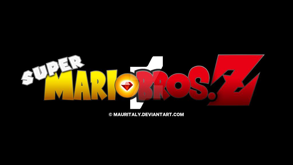 Super Mario Bros. Z Logo 2 by Mauritaly