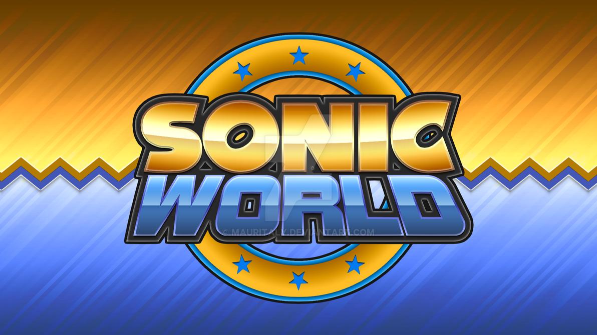 Sonic World Logo Remake V2 by Mauritaly