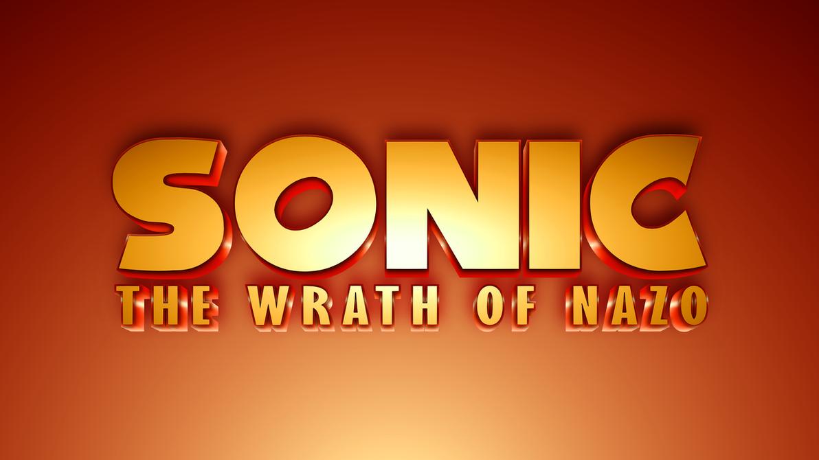 Sonic: The Wrath of Nazo (Custom Logo) by Mauritaly