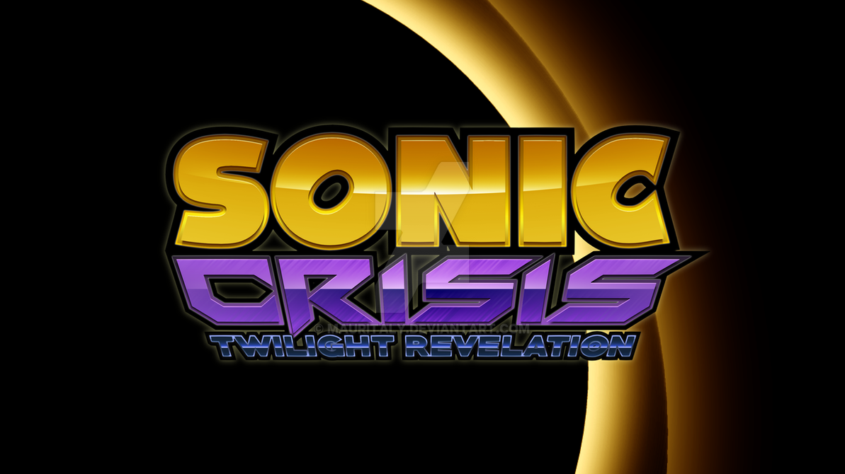 Sonic Crisis: Twilight Revelation (Fangame Title) by Mauritaly