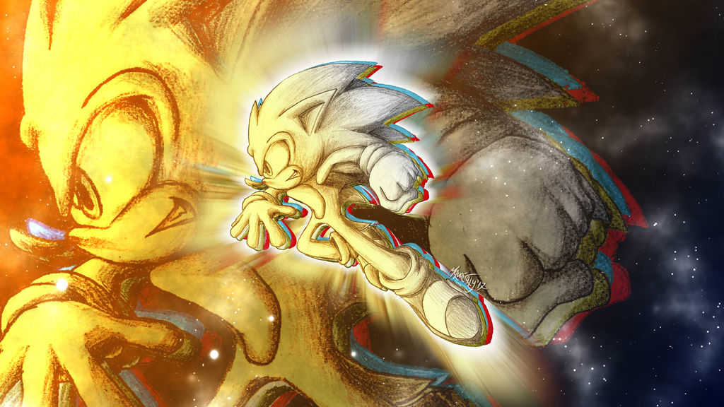 Sonic The Hedgehog Space Wallpaper 4k By Mauritaly On Deviantart