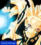 Naruto Biju Mode 598 Render