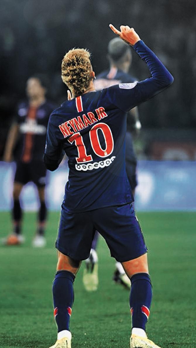 Neymar Jr PSG Mobile Wallpaper 18/19 by TheAvengerX on ...