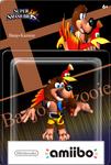 Amiibo Box Banjo-Kazooie