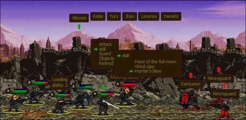 Metal Slug estilo Final Fantasy