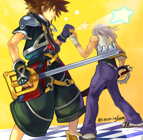 Sora And Riku By Morning6am On DeviantArt