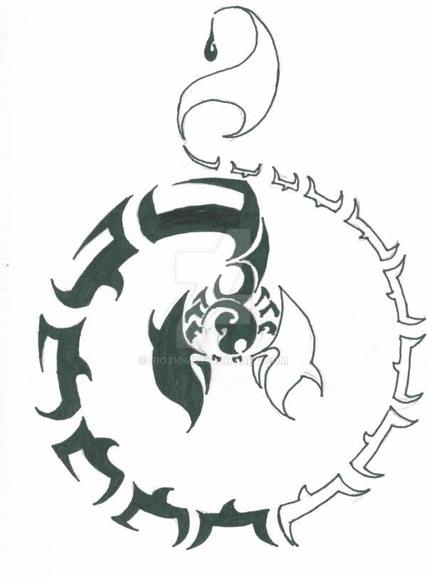 Scorpio Tattoo 3 By Rio3104 On Deviantart