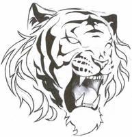 Tigre tattoo 3 by Rio3104