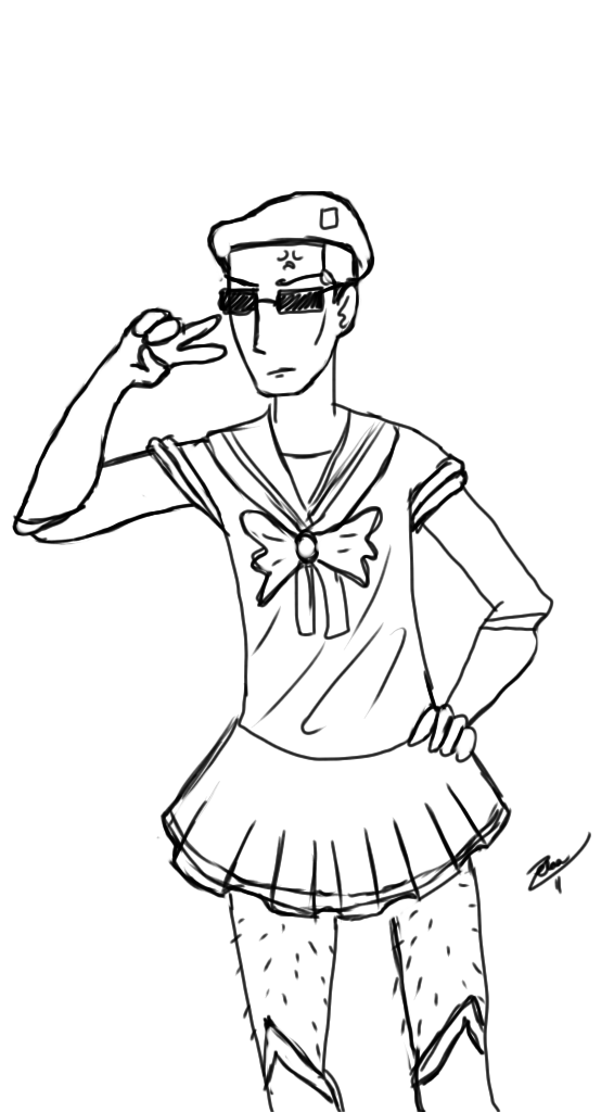 Sailor Boone Lines by Zeba-chan