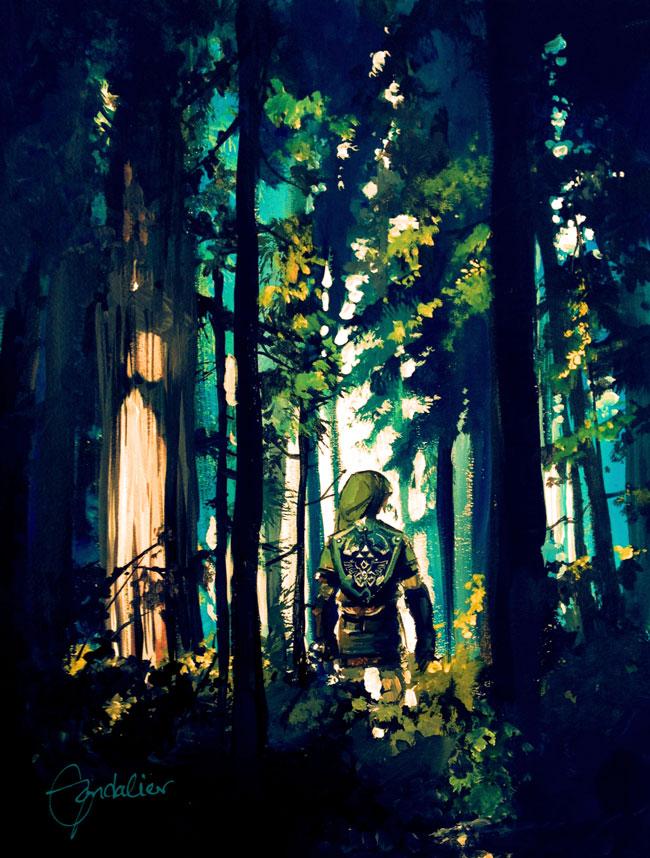 Faron Woods by Gondalier