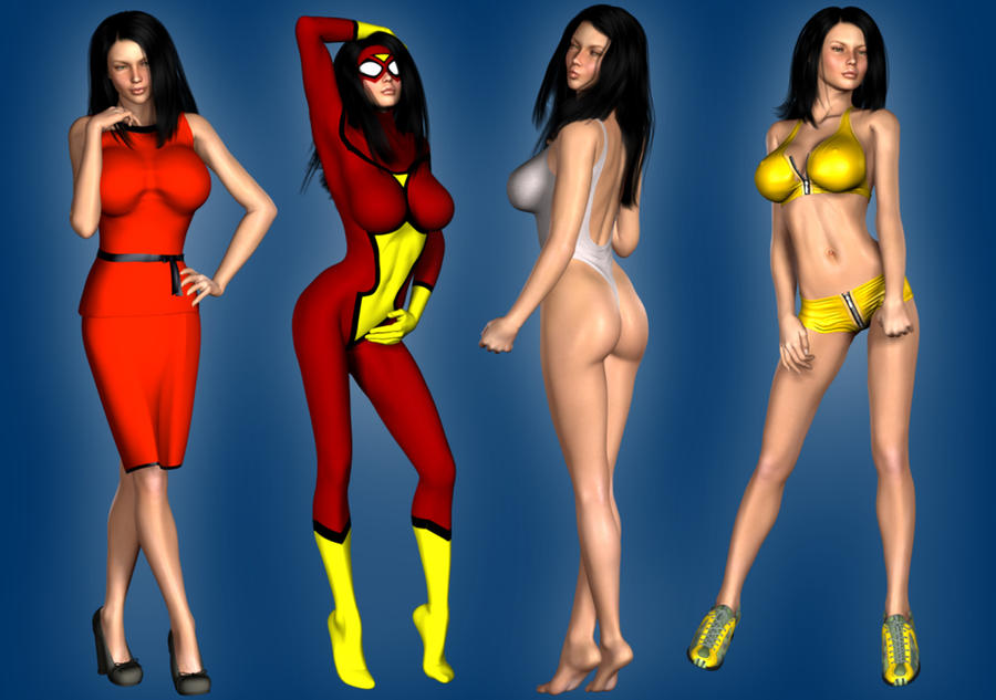 Spider-Woman Jessica Drew extra looks by Happenstance6 ...  sc 1 st  DeviantArt & Spider-Woman Jessica Drew extra looks by Happenstance6 on DeviantArt