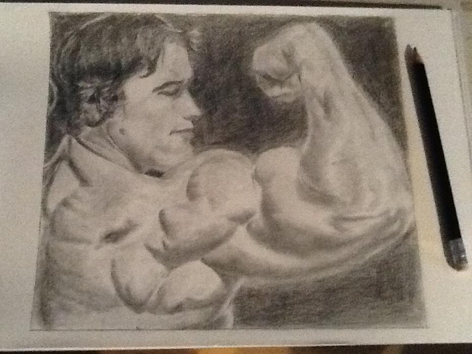 Arnold Schwarzenegger by Art-O-mania
