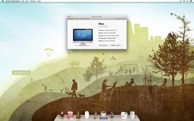 Mountain Lion 10.8 ~ Desktop by 1dohcouk