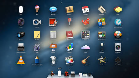 Mac OS X~ iContainer Pack for CandyBar by 1dohcouk
