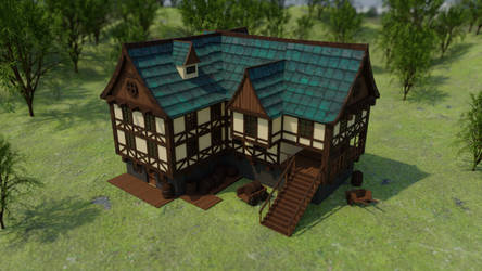 Medieval House by Antarres312