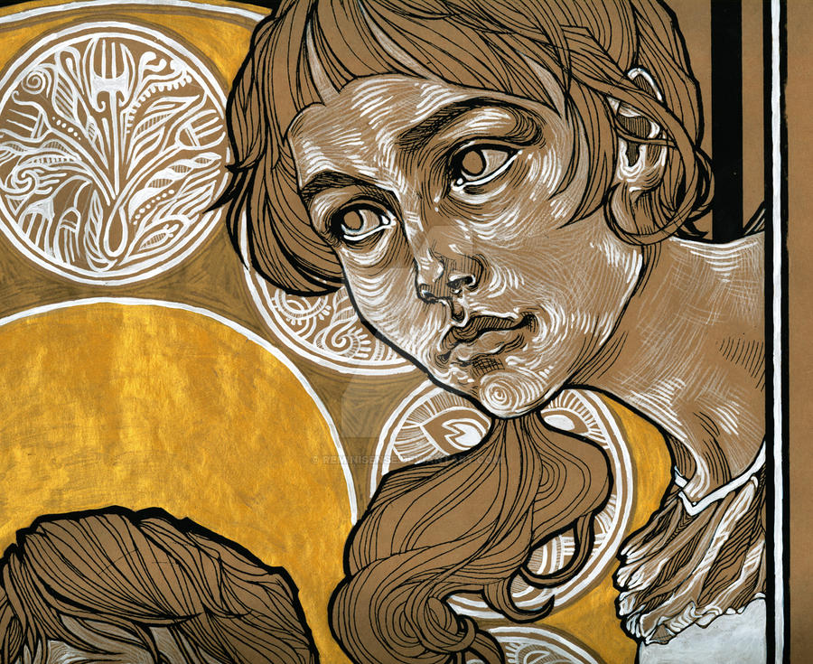 Detail - The Idiot poster III by reminisense