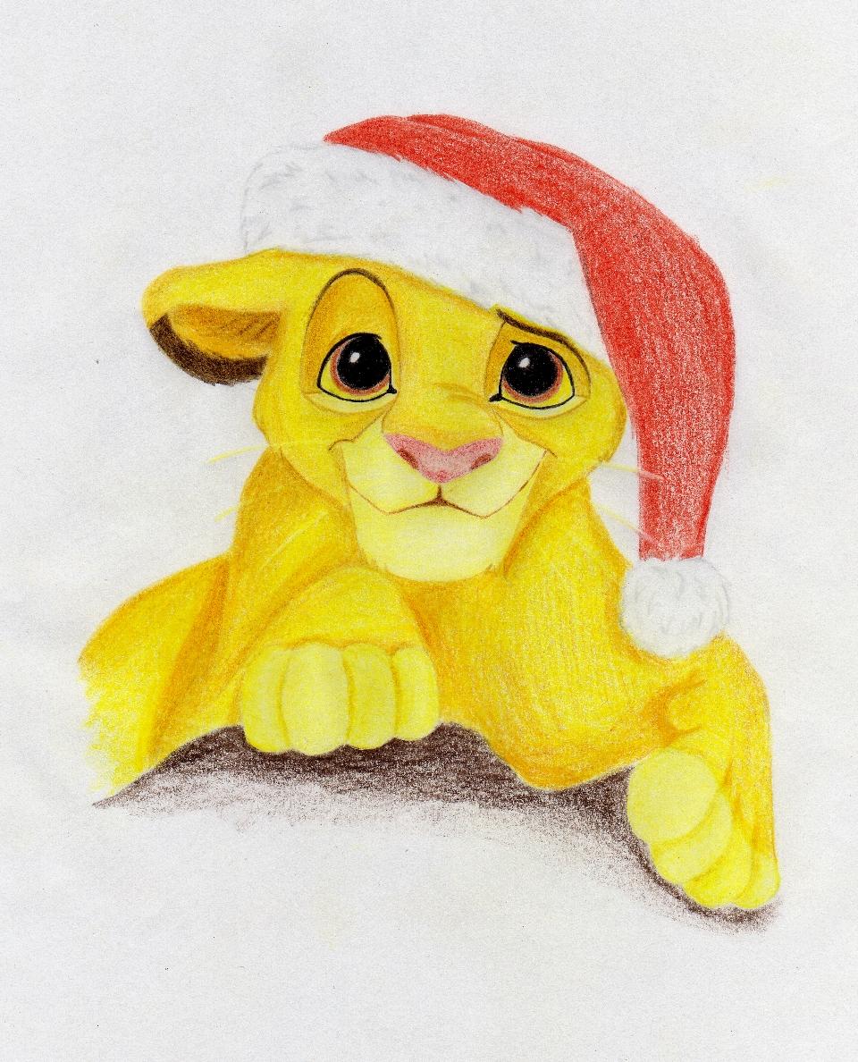 Christmas Simba by ChristieBase