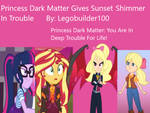 PDM Gives Sunset Shimmer In Trouble Cover