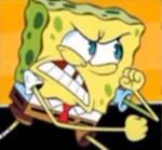 Spongebob Angry