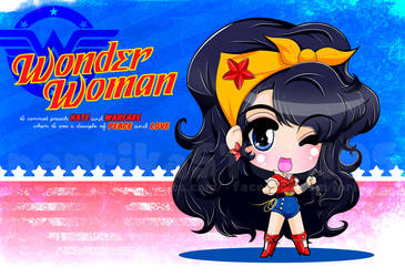 Chibi Bombshell Wonder Woman