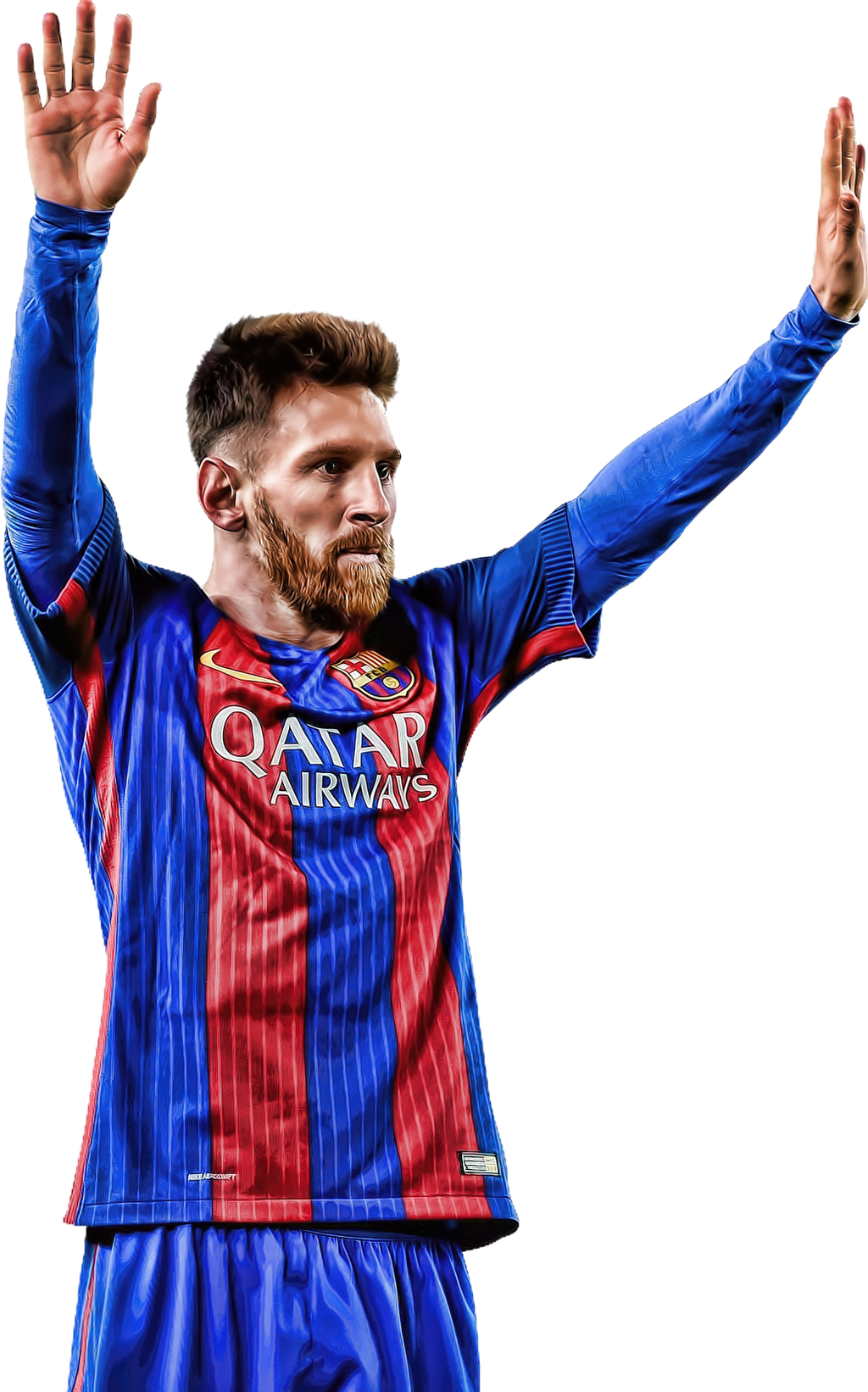 Resultado de imagem para Messi png 2017